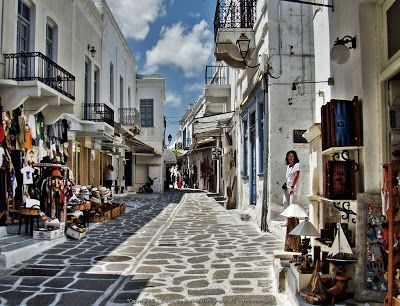 Paros, Parikia Cyclades Greece