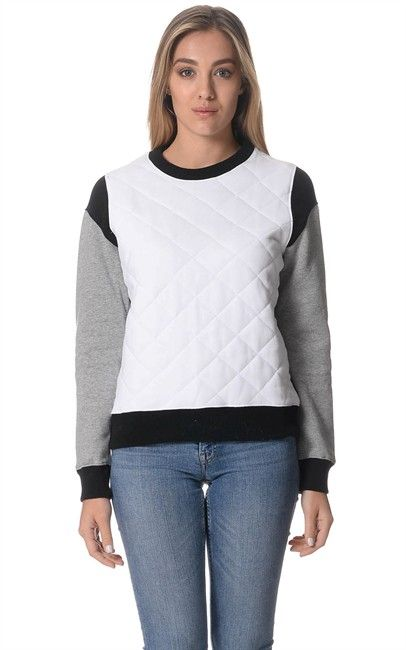 Ozsale - Womens White Grey Marle Cotton Kingdom Hearts  Sweater by O'Neill. Price was $79.99 and is now $29.00.