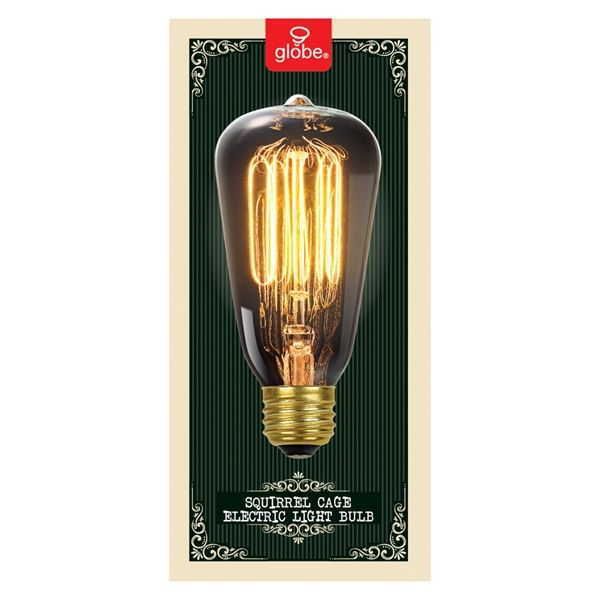 Shop Globe Electric  60-Watt S Medium Base (E-26) Soft White Dimmable for Indoor or Enclosed Outdoor Use Only Incandescent Display Light Bulb at Lowe's Canada. Find our selection of incandescent light bulbs at the lowest price guaranteed with price match + 10% off.