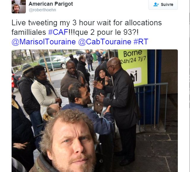 When Robert went to the #CPAM (French Social Security Offices)
