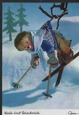 AK Mecki original Diehl Nr. 354 neu ungelaufen Skifahrer Ski Winter