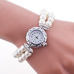 Dames Modieus horloge Kwarts Plastic Band Wit / Blauw / Rood / Roze Merk- – EUR € 5.87