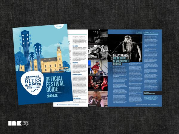 11 best Music festival booklets images on Pinterest Music - music brochure
