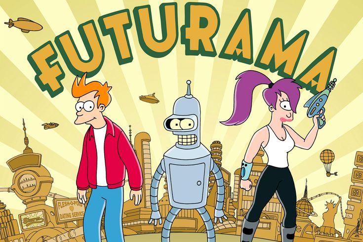 Futurama (1999). 30 series juveniles que marcaron nuestra adolescencia.