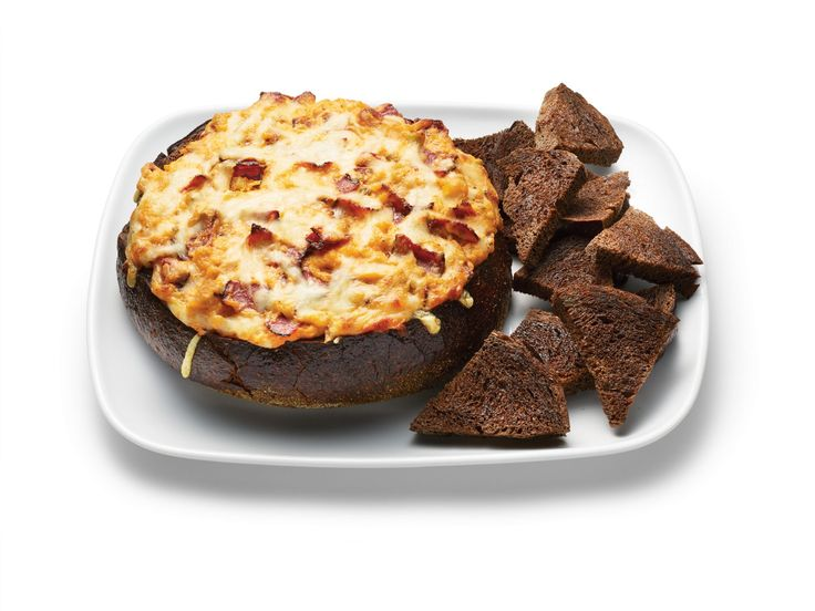 Hot Reuben Dip In A Pumpernickel Bread Bowl recipe from Food Network Kitchen via Food Network