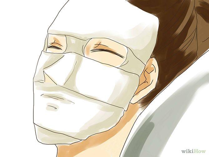 Las máscaras para la persona del huevo