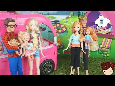 Barbie y Elsa ayudan a Elena de Avalor a prepar la Fiesta de Isabel - Con Bebes de Frozen - YouTube