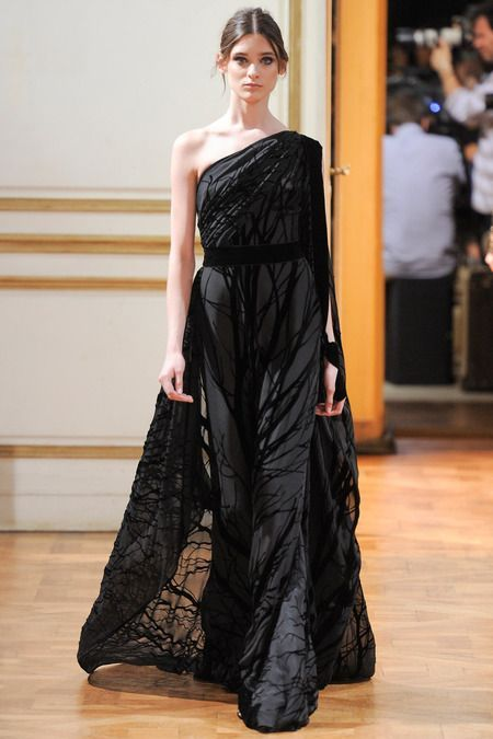 Zuhair Murad Fall 2013 Couture Collection: inspired by roman toga picta