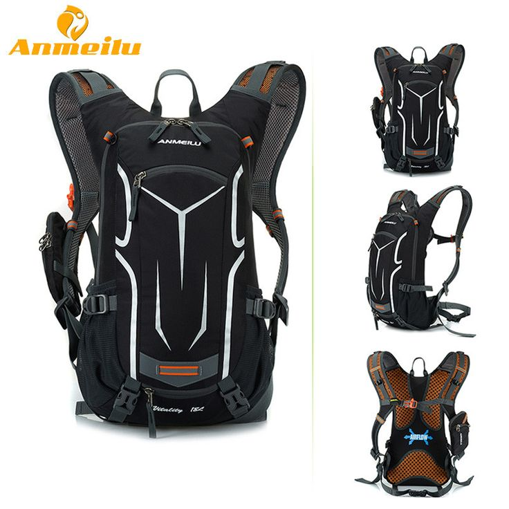 ANMEILU 18L Waterproof Camping Backpack +2L Water Bag Bladder Outdoor Sports Climbing Cycling Bag Sport Rucksacks Camelback 2017