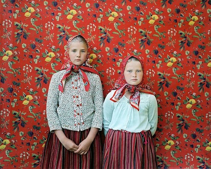 This portrait of Engel and Anni was taken by photographer Birgit Püve in Kihnu an island community in Estonia where the craftswomen of generations have supported their families by making woolen goods. This print is currently available for auction as part of our photo contest with Kids of Kathmandu (@kidsofkathmandu). Bids can be placed at any time and everything raised will go towards building and finishing schools in the areas most affected by the earthquake in Nepal. // #photocontest…
