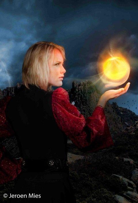 Vrouwelijke magiër