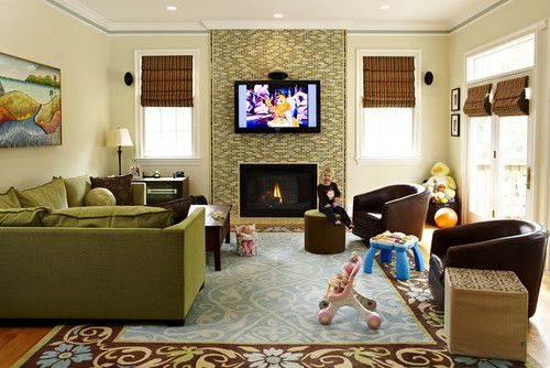 kid friendly living room (page with multiple ideas to consider)