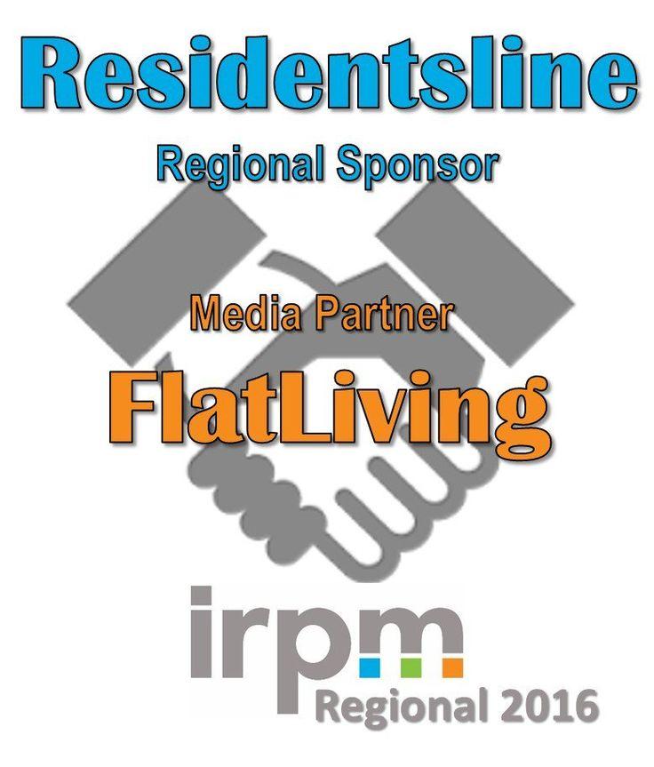 #IRPM #Regionals #sponsored by @Residentsline & our #media #partner is @FlatLivingLoves http://buff.ly/2bEuqGd