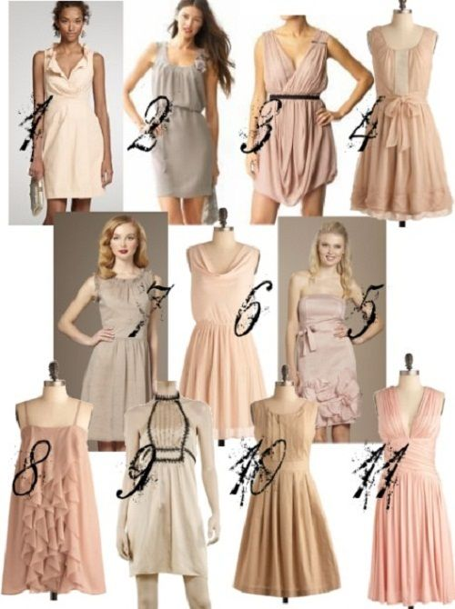 Simple Wedding Guest Dress