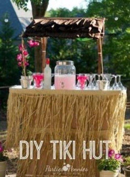 Inspiration mariage tropical - le bar à cocktail