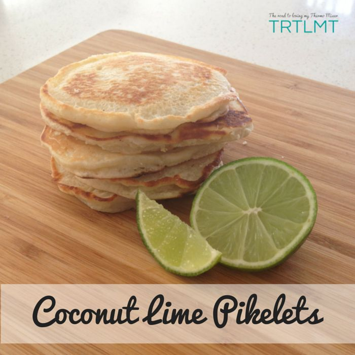 Coconut Lime Pikelets