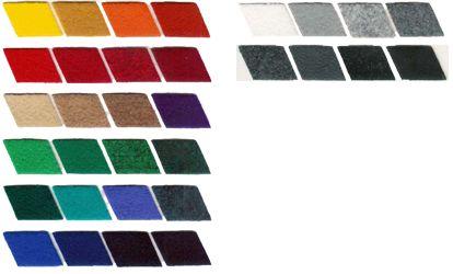 Altri colori di feltro