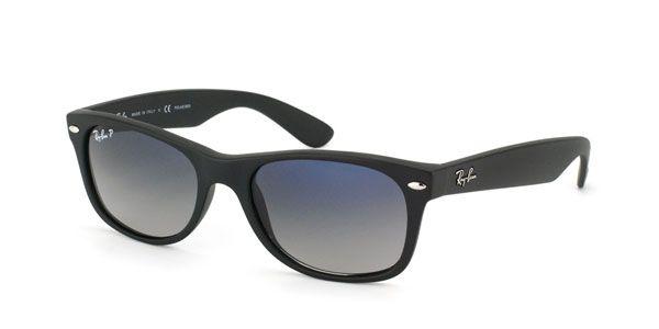 Billige Ray-Ban solbriller hos SmartBuyGlasses. Laveste pris på Ray-Ban RB2132 New Wayfarer Polarized online. Gratis rengjøringssett inkludert.