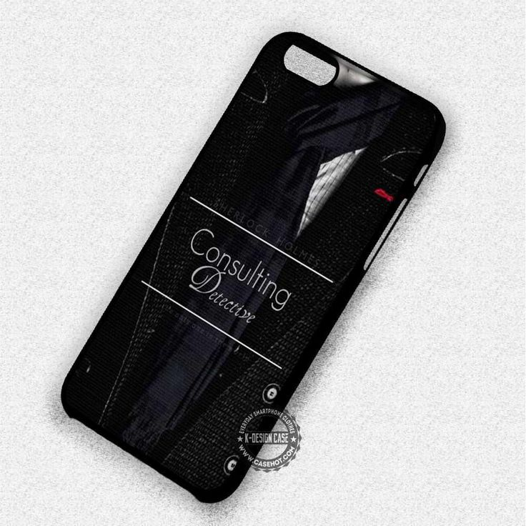 Scarf With Quote Sherlock Holmes - iPhone 7 Plus 6 5 4 Cases & Covers