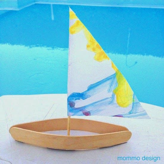 popsicle stick boat instructions