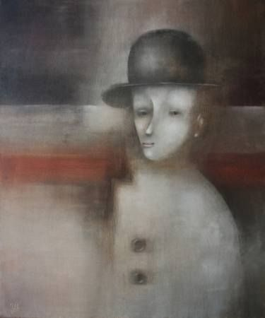 Stand and listen to trains by Eugene Ivanov, oil on canvas, 60 X 50 cm, SOLD  #eugeneivanov #@eugene_1_ivanov #modern #original #oil #watercolor #hipster #painting #sale #art_for_sale #original_art_for_sale #modern_art_for_sale #canvas_art_for_sale #art_for_sale_artworks #art_for_sale_water_colors #art_for_sale_artist #art_for_sale_eugene_ivanov #abstract #best_abstract_art