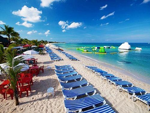Picture of Mr Sanchos Beach Club in #Cozumel, Mexico. $49.95 P/P all inclusive.