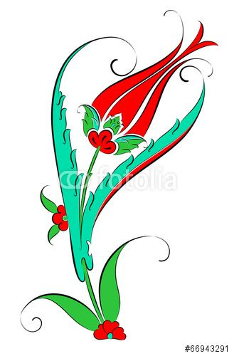 "Download the royalty-free vector ""Vektörel Çini Motifi Lale Deseni Çizimi"" designed by Enes Altın at the lowest price on Fotolia.com. Browse our cheap image bank online to find the perfect stock vector for your marketing projects!"