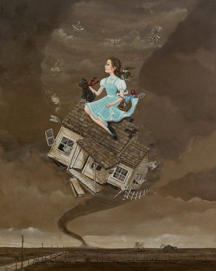 Wizard Of Oz Flying House 113 best images...