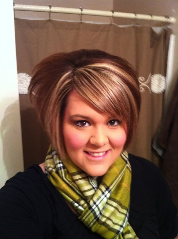 fat girl haircut ideas