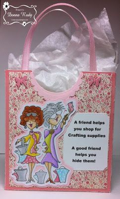 ONECRAZYSTAMPER.COM: June Challenge -- Anything Goes card by Donna using High…