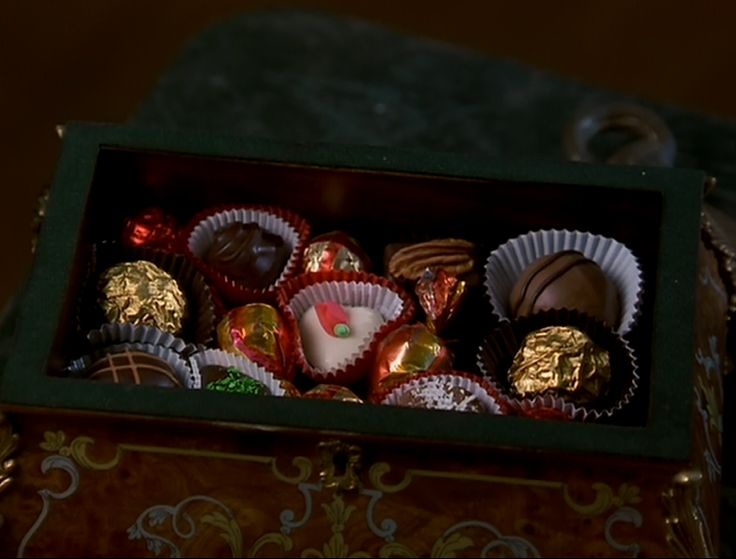 I've always wanted Ms.Honey's chocolate box from Matilda!!