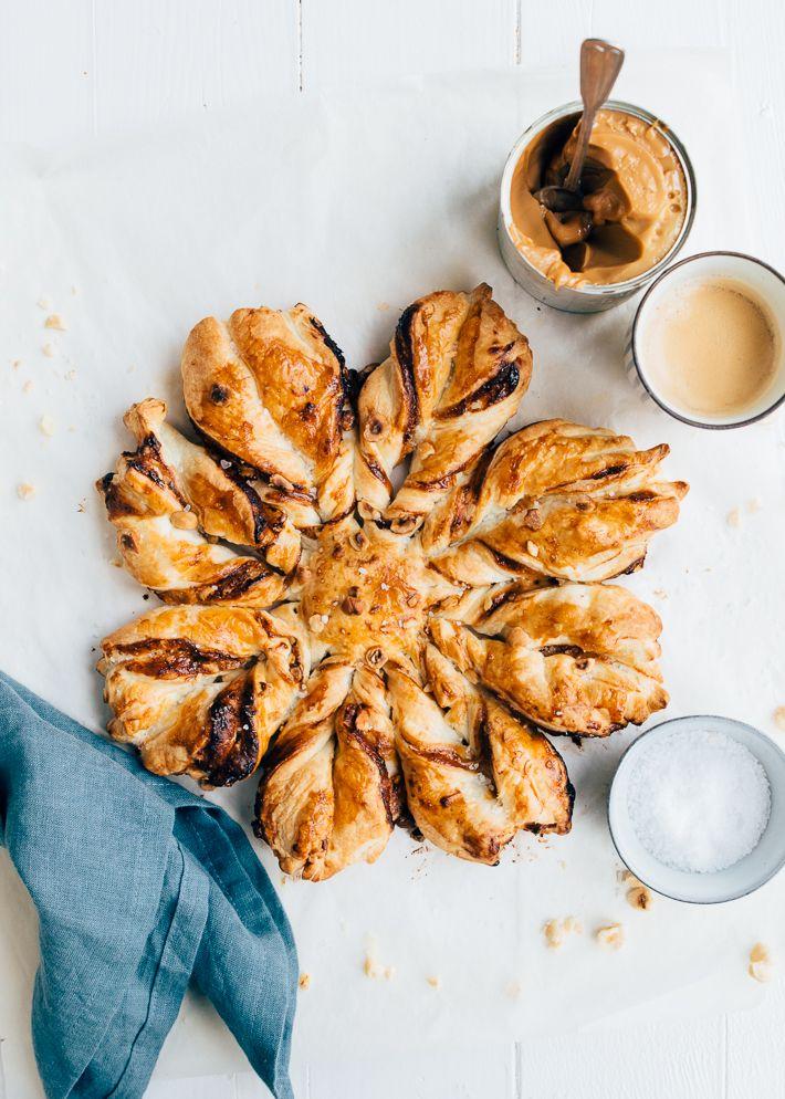 Bladerdeegster Met Salted Caramel Uit Pauline S Keuken Recept Voedsel Ideeen Bladerdeegrecepten Gebak
