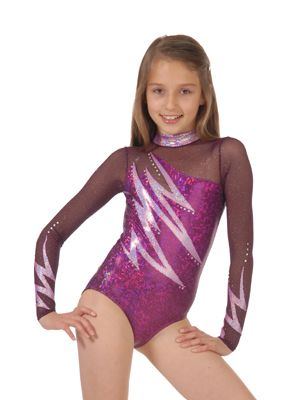 A nice selection of children's and kids gymnastics and dance leotards for both dance practice and recitals.
