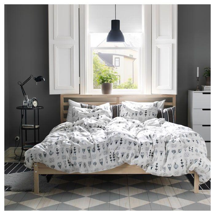 Tarva Bed Frame Pine Full Bed Frame Ikea Bed Ikea Bedroom