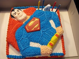 Birthday Cake but he would want Spiderman