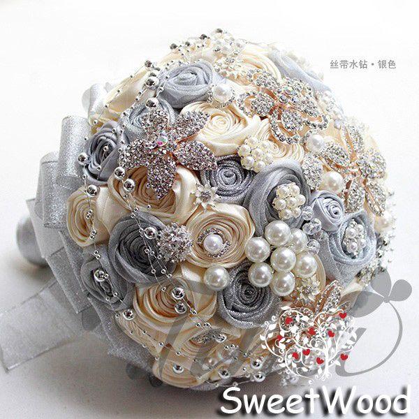 gioielli di cristallo bouquet nuziali - Cerca con Google
