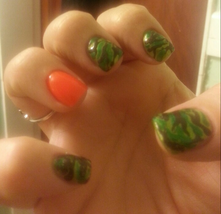 9 best Camo nails images on Pinterest | Camo nails, Hair makeup and Bags