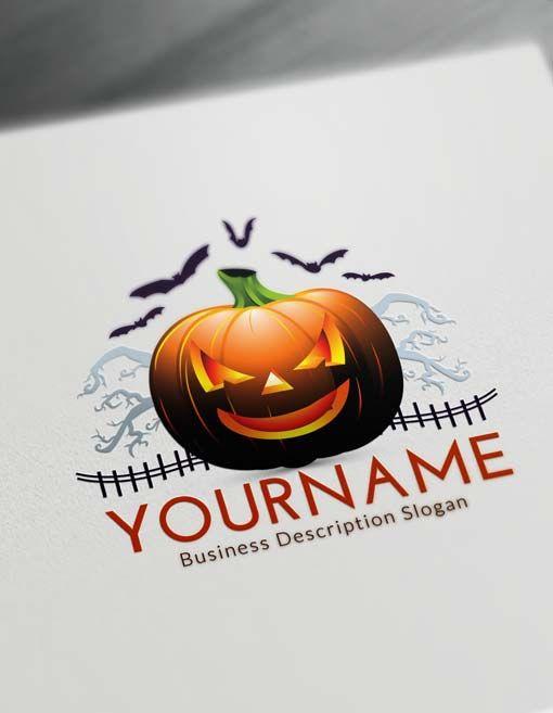 Free Halloween Logo Maker  Online Halloween Logo Creator