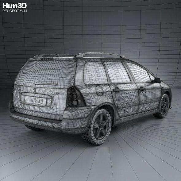 Peugeot 307 Sw 2001 Peugeot Car Mods Car