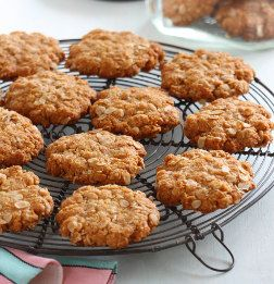 Anzac Biscuits using White Wings flour - a favourite amongst bakers.