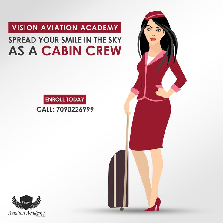 Vision Aviation Academy - Spread Your Smile In The Sky As A Cabin Crew. Get Certification Training In - Airline | Airport | Hotel | Travel | Tourism  Call: 7090226999  #Airline #Hotel #Travel #Airport #cabincrew #FlightAttendant