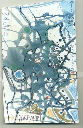 Fake Map by harpreet thinking, via Flickr