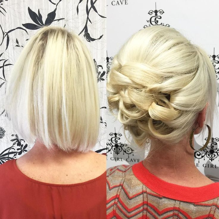 Best 25 Fine Hair Updo Ideas On