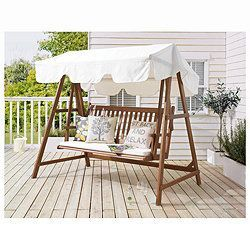Windsor Wooden Swing Bench