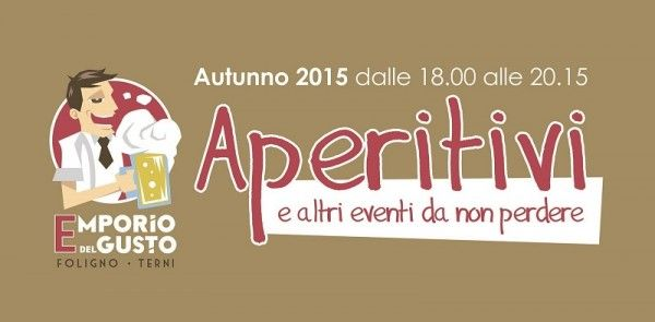#Aperitivi & Co. #Emporiodelgusto #Foligno e #Terni http://www.emporiodelgusto.net/evento/aperitivico-allemporio-del-gusto-foligno-e-terni/