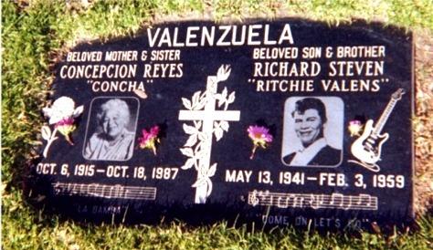 Résultats de recherche d'images pour «ritchie valens cimetière de San Fernando Mission»