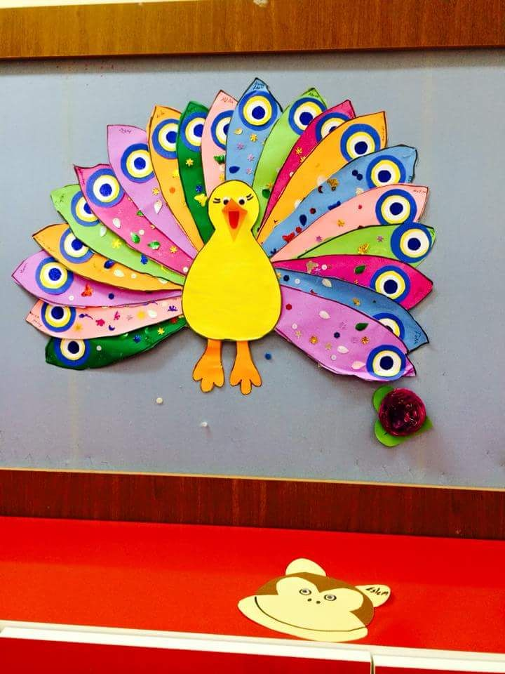 Turkey craft idea for kids Handprint and