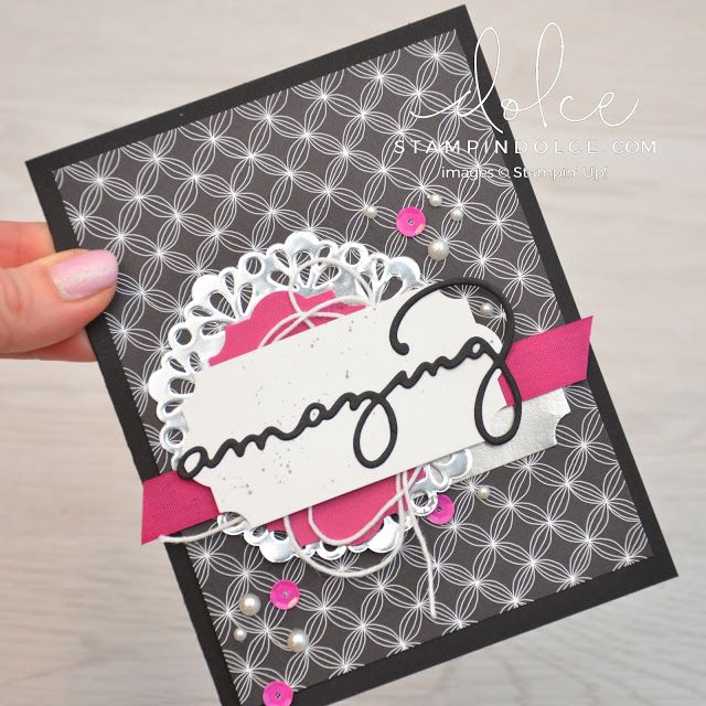 CASE Krista Frattin - 2018 Sale-a-bration with Stampin' Up!