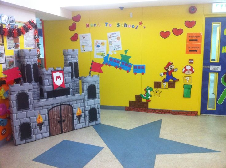 summerhalloween decorations 2014 themed super mario characters with matching castlesemi