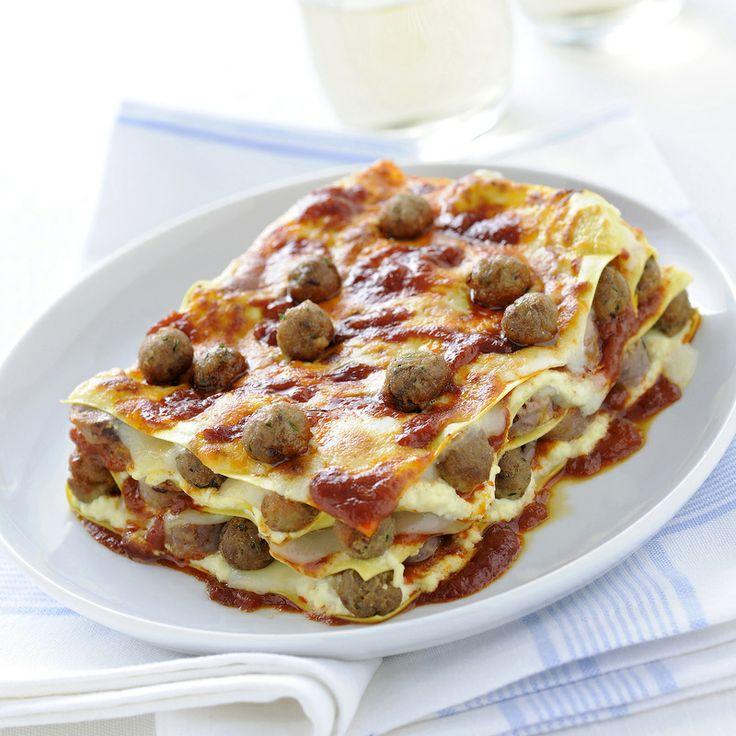Lasagne con polpettine alla napoletana